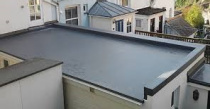 flat roofing house 2
